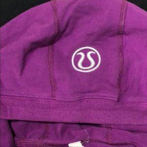 lululemon athletica Sweaters - Lululemon athletica halter hoodie potion purple